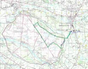 Grøn rute 17 m